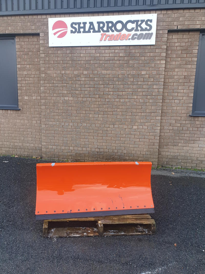 kubota snow plough